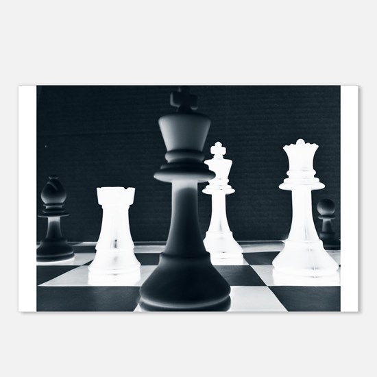Master Chess Piece Postcards (Package of 8)