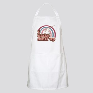 I make stuff up unicorn BBQ Apron