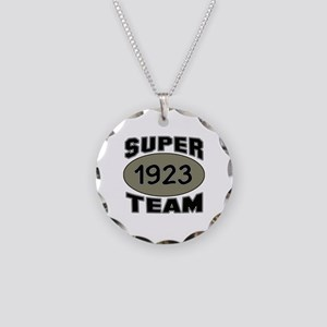Super Team 1923 Necklace Circle Charm