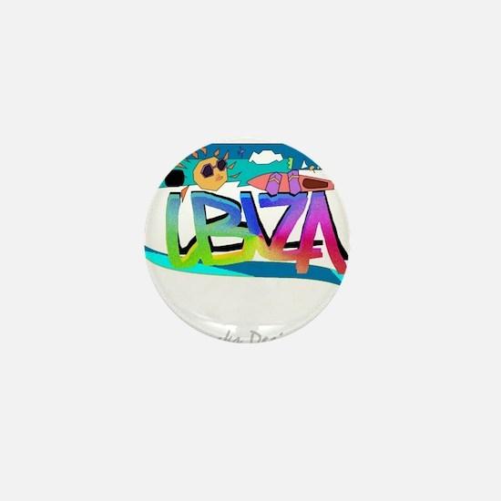 Cute Ibiza Mini Button
