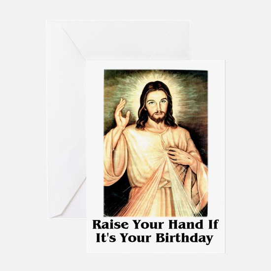Happy birthday jesus greeting cards cafepress happy birthday jesus greeting card bookmarktalkfo Gallery