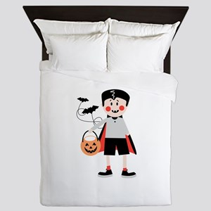 Dracula Costume Queen Duvet