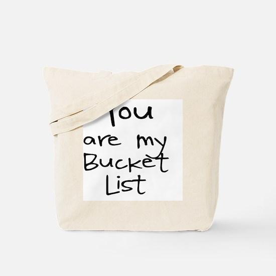 Funny List Tote Bag