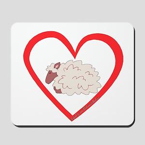 Sheep Heart Mousepad
