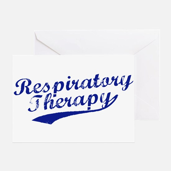 Respiratory Therapy Greeting Card