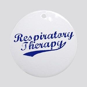 Respiratory Therapy Ornament (Round)