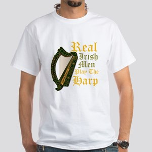 Harp - Ireland Coat Of Arms - 2 White T-Shirt