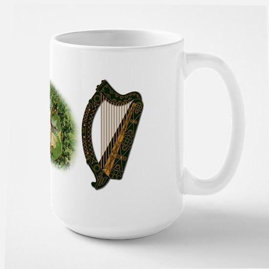 Harps &Amp; Irish Fairy - Large Mug