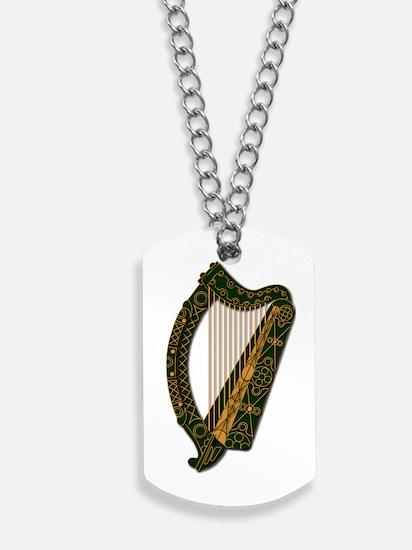 Harp - Ireland Coat Of Arms - 2 - Dog Tags