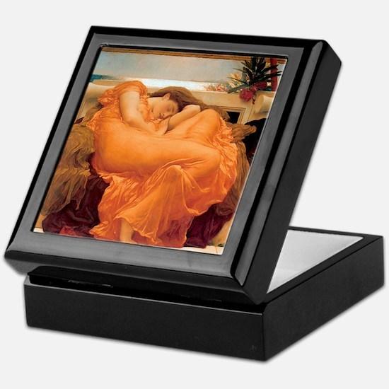 Flaming June-Full Size Keepsake Box