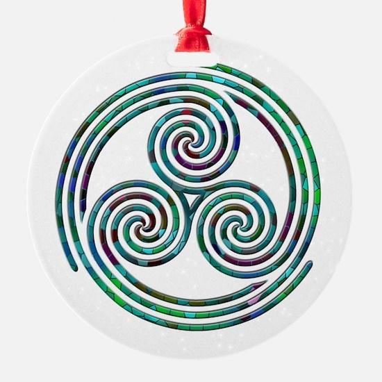 Triple Spiral - 7 Ornament