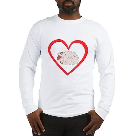 Sheep Heart Long Sleeve T-Shirt
