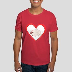 Sheep Heart Dark T-Shirt