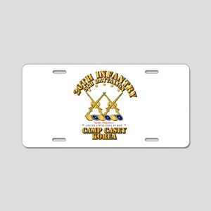5th BN - 20th INF - Camp Ca Aluminum License Plate
