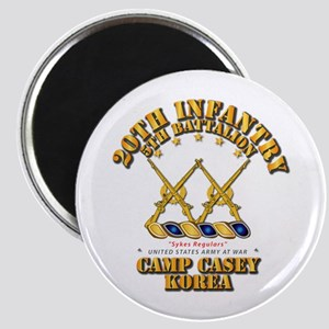 5th BN - 20th INF - Camp Casey - Korea Magnet