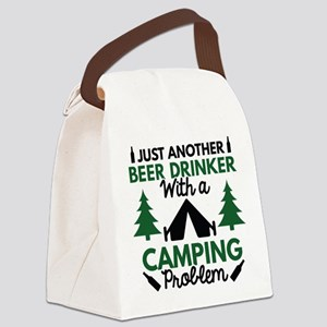 Beer Drinker Camping Canvas Lunch Bag