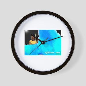 Night time swing Wall Clock
