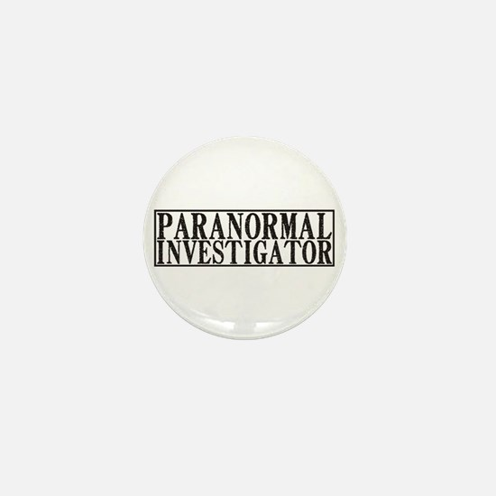 Paranormal Investigator Mini Button