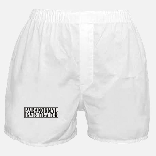 Paranormal Investigator Boxer Shorts