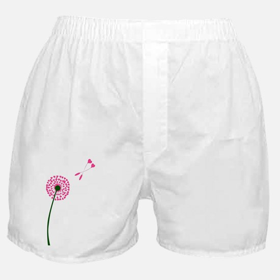 Unique Dandelion seeds blowing in the wind Boxer Shorts