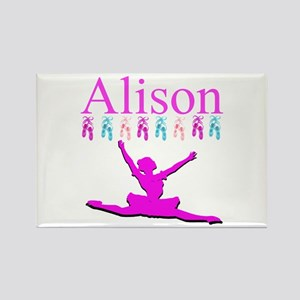 PERSONALIZED DANCE Rectangle Magnet