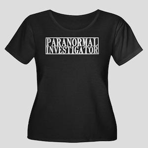 Paranormal Investigator Women's Plus Size Scoop Ne