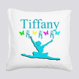PERSONALIZED DANCE Square Canvas Pillow