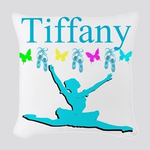 PERSONALIZED DANCE Woven Throw Pillow