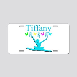 PERSONALIZED DANCE Aluminum License Plate