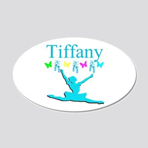 PERSONALIZED DANCE 20x12 Oval Wall Decal