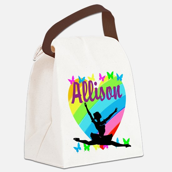 PERSONALIZED DANCE Canvas Lunch Bag