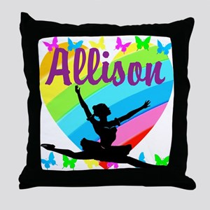 PERSONALIZED DANCE Throw Pillow
