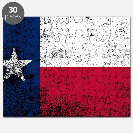 Cute Blue star mothers flag Puzzle
