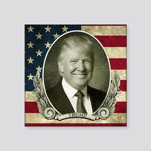 Flag Portrait Sticker