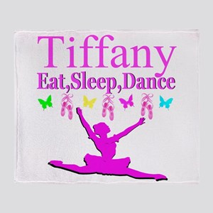 PERSONALIZED DANCE Throw Blanket