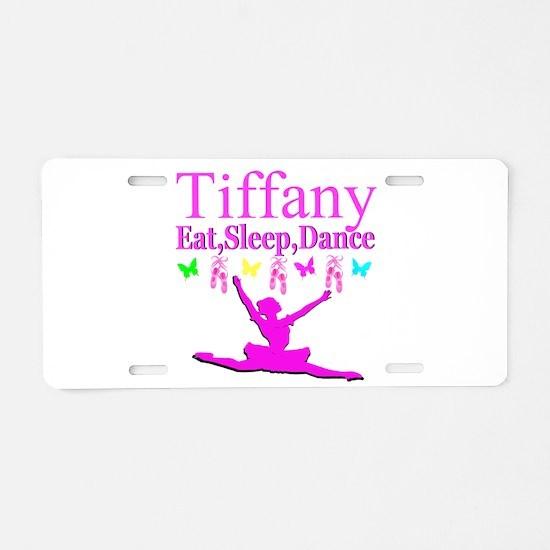 PERSONALIZED DANCE Aluminum License Plate