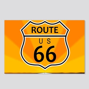 Route Sixty Six Postcards (Package of 8)