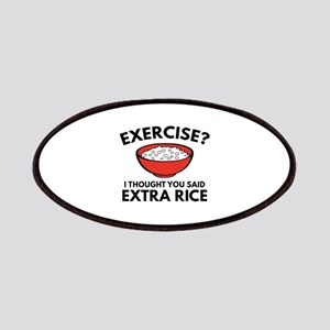 Exercise ? Extra Rice Patches