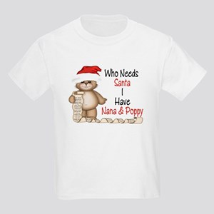 Who Needs Santa? Kids Light T-Shirt
