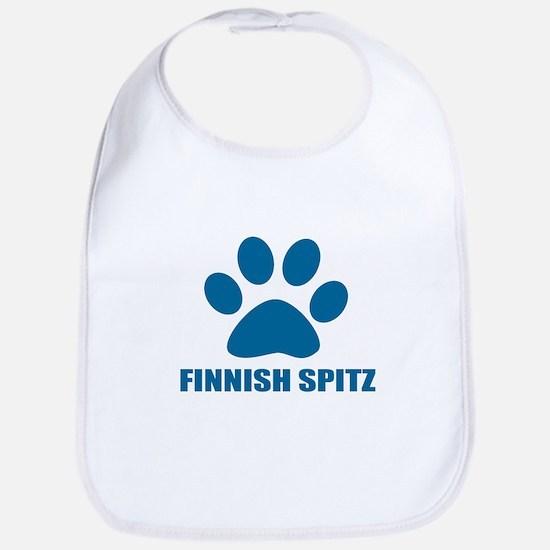 Finnish Spitz Dog Designs Cotton Baby Bib