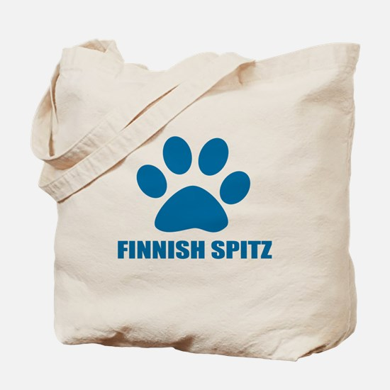 Finnish Spitz Dog Designs Tote Bag