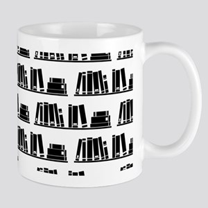 Book Lover Librarian Pattern Mugs