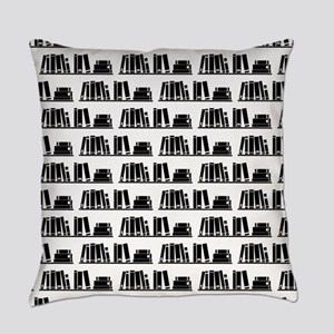 Book Lover Librarian Pattern Everyday Pillow