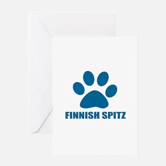 Finnish Spitz Dog Designs Greeting Card