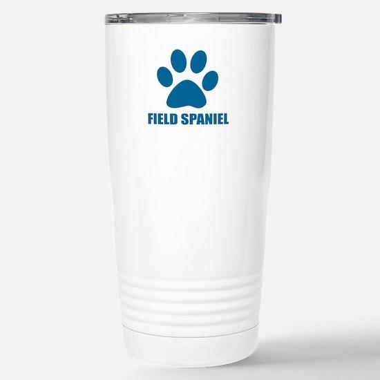 Field Spaniel Dog Travel Mug