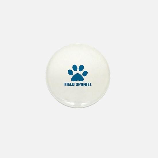 Field Spaniel Dog Designs Mini Button