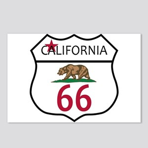 Route 66 California Postcards (Package of 8)