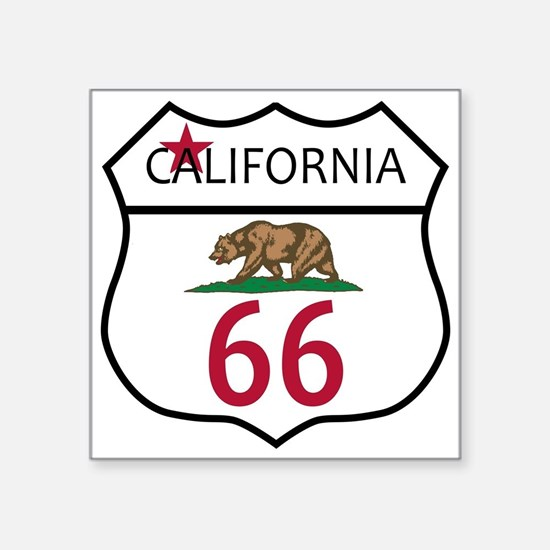 Route 66 California Sticker