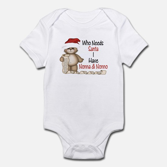 Who Needs Santa? Infant Bodysuit