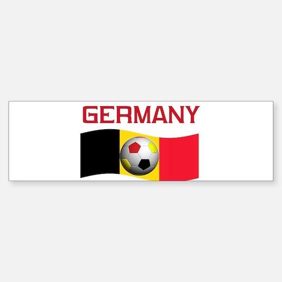 TEAM GERMANY WORLD CUP Bumper Bumper Bumper Sticker
